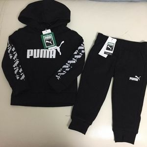 Puma warm Hoodie Active pants outfit